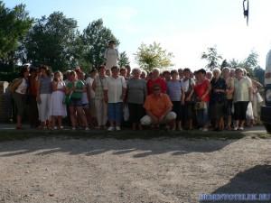 2008.06.22-én autóbuszos kiránduláson voltunk Pannonhalmán és Tatán