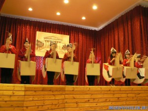 Március 15-ei ünnepség az ÁMK-ban